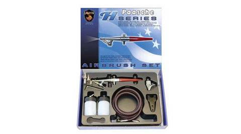 Paasche Airbrush Company H-SET H Series Airbrush Set