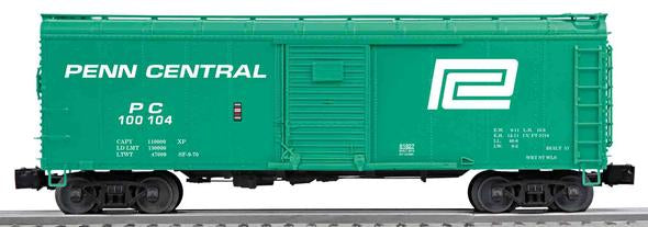 Lionel 6-81827 O Penn Central Single-Door Round Roof Boxcar #100104