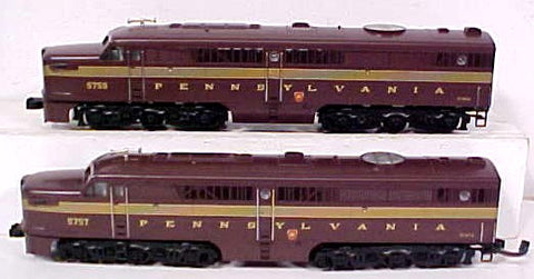 MTH 20-2019-1 Pennsylvania Alco PA AA Diesel Set w/Electric Horn LN/Box
