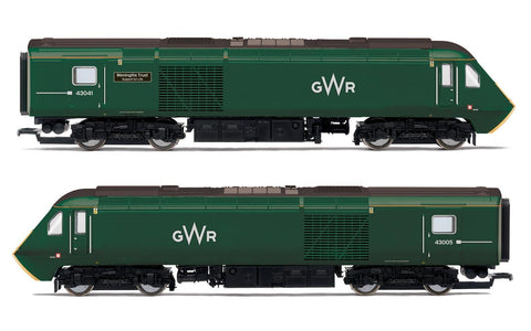 Hornby R3685 OO Great Western Railway Class 43 HST Power Cars (Pack of 2)