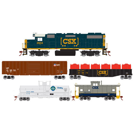 Athearn 14266 HO CSX Iron Horse Train Set