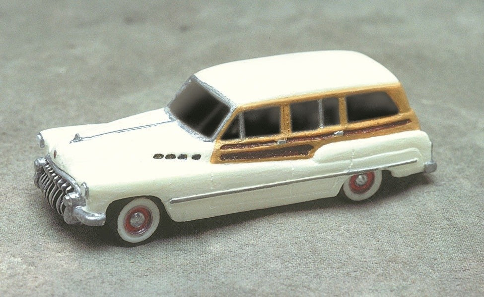 Stoney Mountain SMC-608 HO Buick Roadmaster Station Wagon 1950 Resin Kit