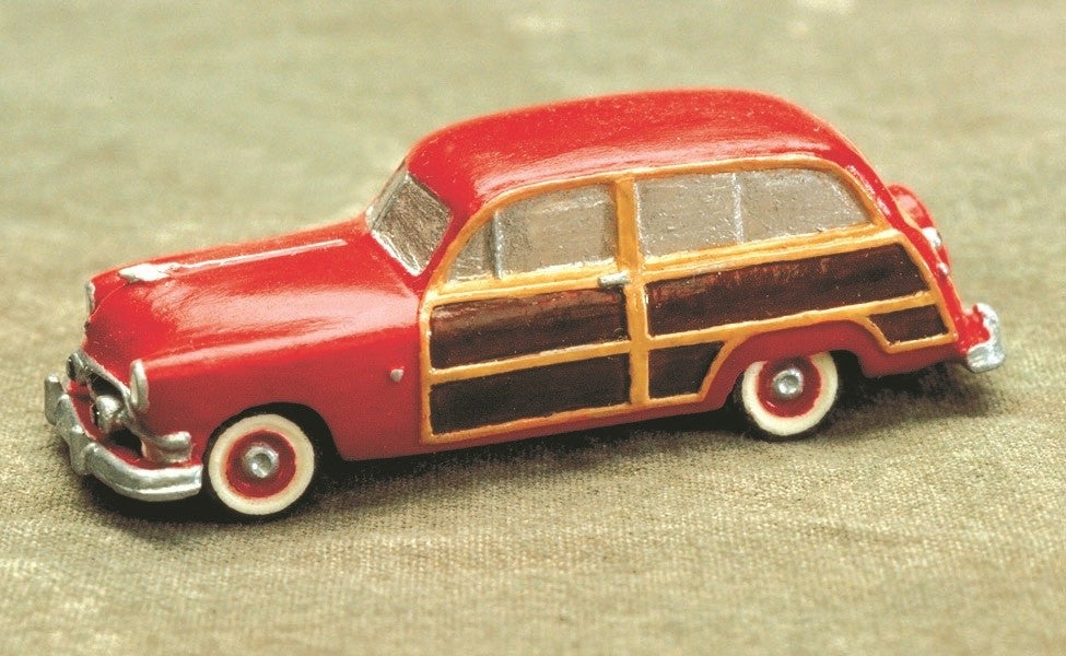 Stoney Mountain SMC-637 HO Ford Woody Wagon 1951 Resin Kit