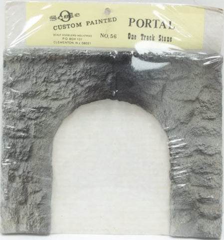 Scale Modelers 56 One Track Stone Portal