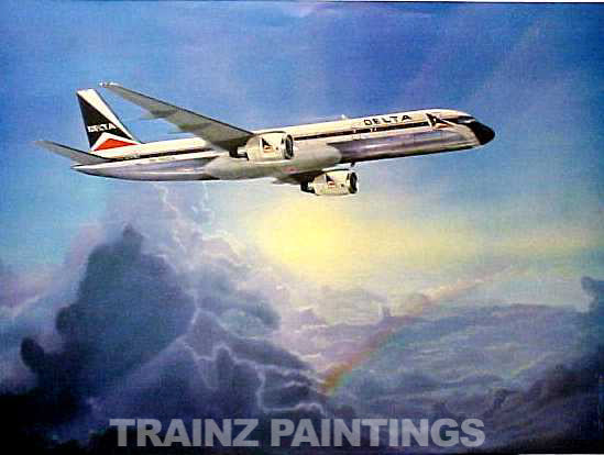 Robert West 157 Delta 'Soaring' Aviation Art Print - S&N