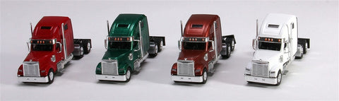 Trucks n Stuff SP3013 1:87 Coronado Highroof Assorted Tractor Only Pack 1 (Pack of 4)