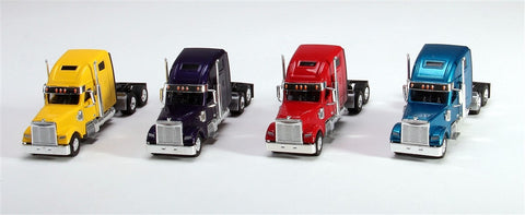 Trucks n Stuff SP3014 1:87 Coronado Highroof Assorted Tractor Only Pack 2 (Pack of 4)