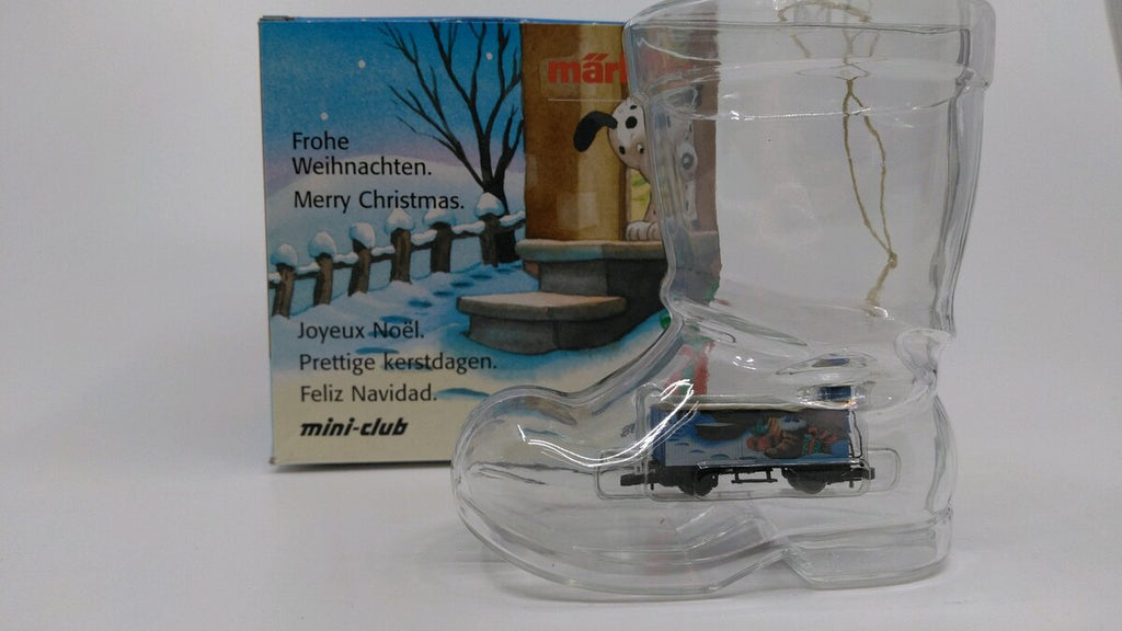 Marklin 80613 Z Scale Mini-Club Christmas Ornament w/ Freight Car NIB