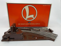 Lionel 6-65022 O27 Right Manual Switch