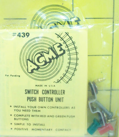 Acme 439 Double Push Button Switch Controller Unit