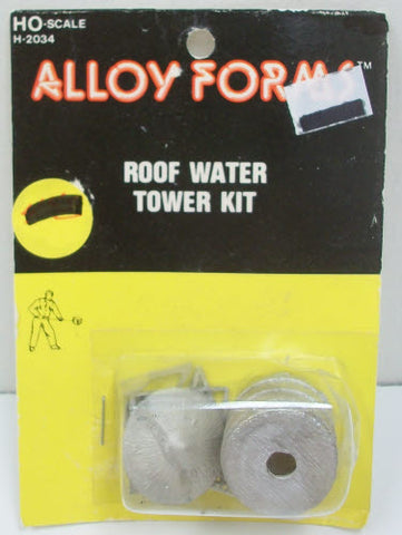 Alloy Forms H-2034 HO Roof Water Tower Kit