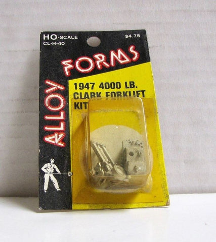 Alloy Forms 2004 1:87 1947 Clark Forklift Kit