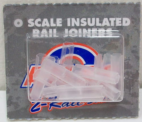 Atlas 7093 O Scale 2-Rail Insulated Rail Joiners  (Pack of 16)