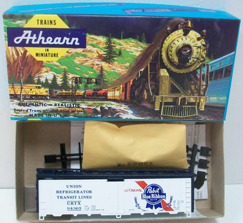 Athearn 2299-1 HO PBR 40' Steel Ice Bunker Reefer Kit