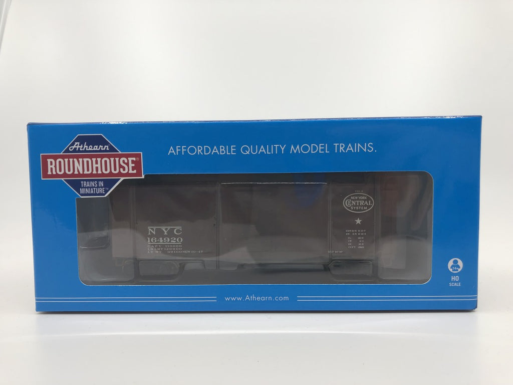 Roundhouse 73562 HO 40' Box Car Single Door, NYC #164920 NIB