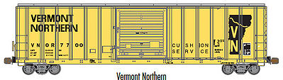 Atlas 20003345 HO Vermont Northern FMC 5077 Single Door Boxcar Early #7749