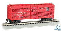 Bachmann 18505 HO Chicago Burlington & Quincy 40' Stock Car #52018
