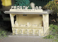 Bachmann 45606 O Plasticville Frosty Bar Classic Classic Building Kit