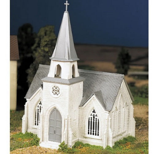 Bachmann 45981 O Plasticville Cathedral Classic Building Kit