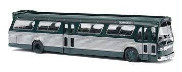 Busch 44500 HO Fishbowl Bus Green