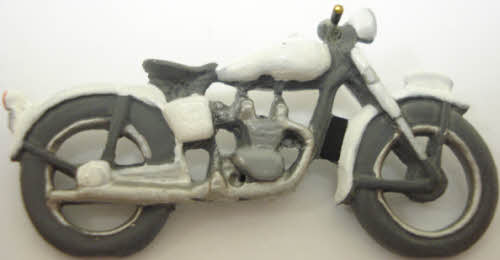 Arttista 1145 Pewter Police Motorcycle