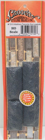 Chooch Enterprises 7213 HO Taconite Ore Loads 4-Piece Set