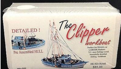 Model Tech Studios S0073 The Clipper Workboat