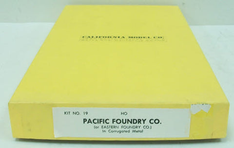 California Model Co 19 HO Scale Pacific Foundry Co Kit