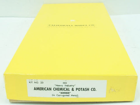 California Model Co 23 American Chemical & Potash Co.