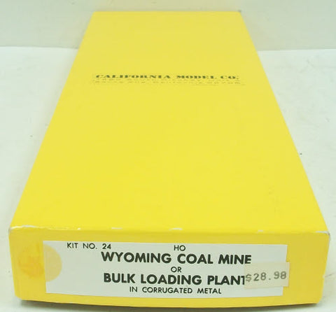 California Model Co 24 HO Modern Wyoming Coal mine