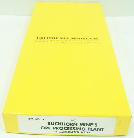California Model Co 4  HO Buckhorn Mine Plant Kit