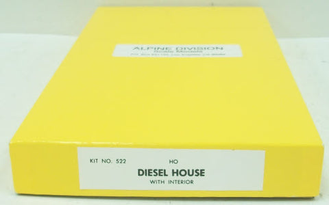 Alpine Division Scale Models 522 HO Diesel House w/Interior