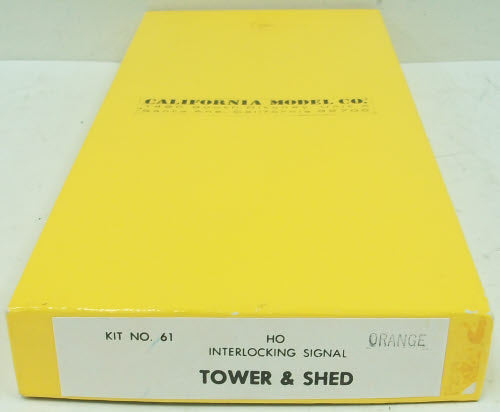 California Model Co 61 HO Interlocking Signal Tower & Shed