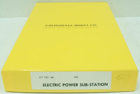 California Model Co 66 Electrical Power Sub-Station
