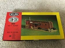 Con-Cor 9033 HO Engine Crew Shanty Building Kit