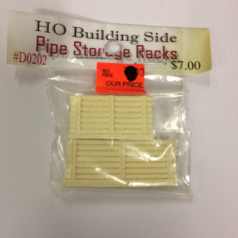 Model Tech Studios D0202 HO Pipe Storage Racks