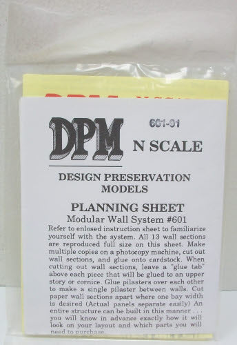 DPM 60191 N Planning Packet for Modular Wall System