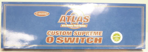 Atlas 6027 O Scale 3-Rail #5 Double Slip Switch LN/Box
