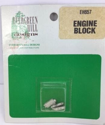 Evergreen Hill 657 Engine Block (Pack of 3)