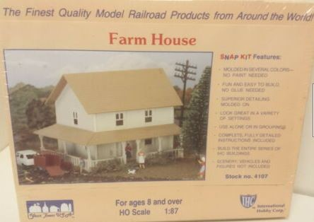 Railway Design Associates 101 HO Farm Fresh Warehouse Building Kit