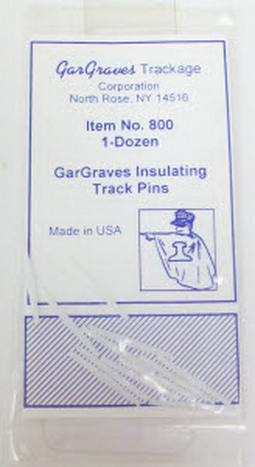 Gargraves 800 Gargraves Insulating Track Pins (12)