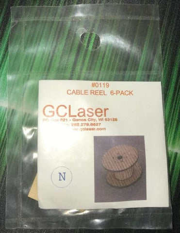 GCLaser 0119 N Cable Reel 6-Pack