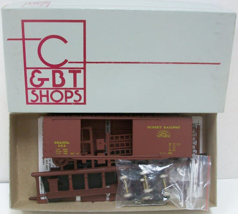 C&BT Shops 202 HO Scale 40' Double Door Boxcar #352