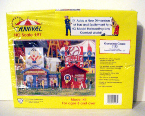 IHC 5123 HO Carnival Guessing Game Building Kit