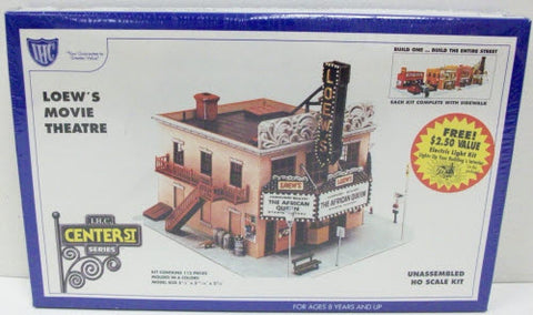 IHC 7799 HO Loew's Movie Theatre Building Kit