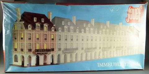 Jouef 1969 HO 17th Century Building Kit
