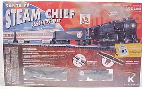 K-Line K1116 SF Steam Chief Set LN/Box