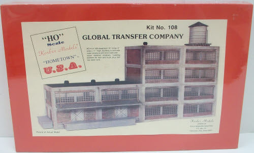 Korber 108 HO Global Transfer Company Building Kit