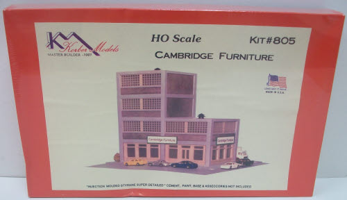 Korber 805 Cambridge Furniture HO Building Kit