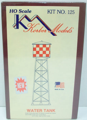 Korber 125 HO Scale Water Tower Building Kit